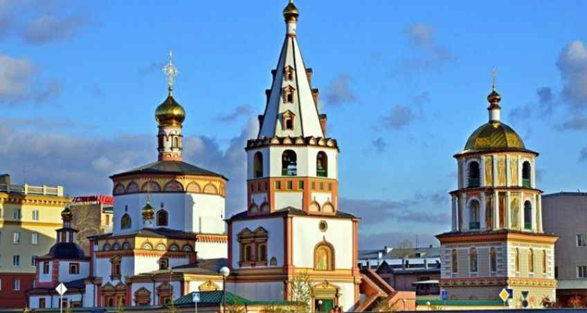City tour. A tour to Irkutsk and Listvyanka settlement